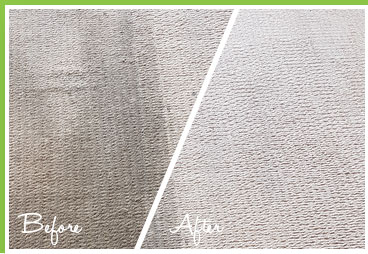 Carpet Cleaning before and after Example two